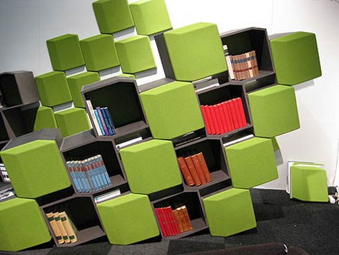 BookShelf and roomdivider Creative Room Dividers for Space Saving
