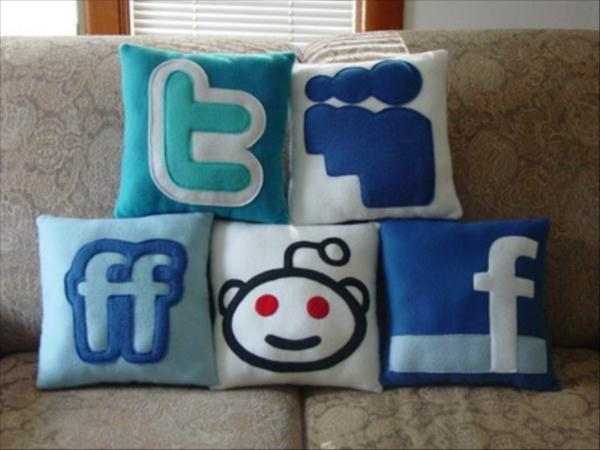 Social Networking Cushions