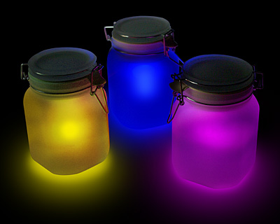 Sun Jar Solar Lamp  8 Cool Designer Lamps