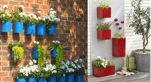 Wall Box Garden 10 Gardening Ideas for Small Spaces