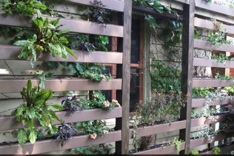 Wall Garden 10 Gardening Ideas for Small Spaces