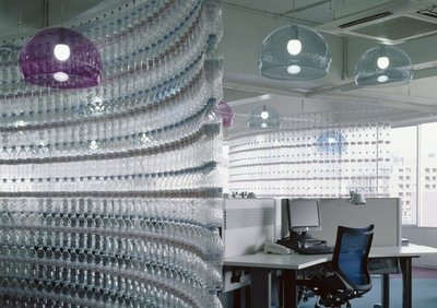 Water Bottle Divider Creative Room Dividers for Space Saving
