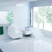 Eco-Friendly Design for Compact Washrooms