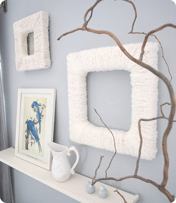Sleek and very homely design, these frames are easy to make