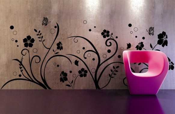 Abstract Wall Design Creative Wall Designs