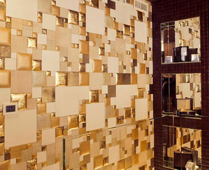 Luxury Leather Wall Design Creative Wall Designs