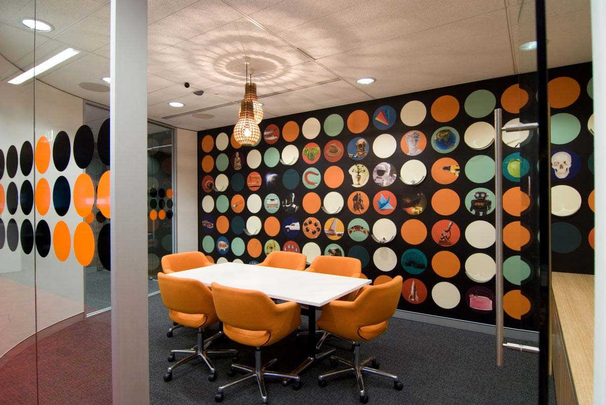 Office Functional Area Creative Wall Designs