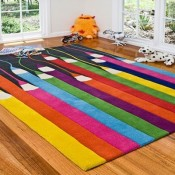 Creative Rugs for Kids Room