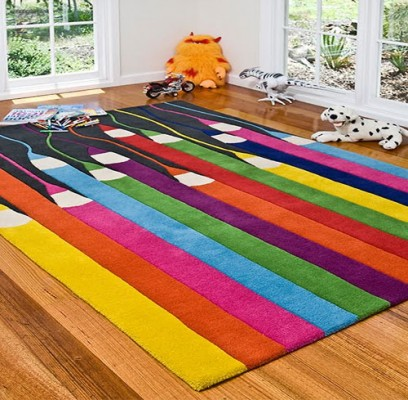 Simple Yet Fun Design. It Looks Colorful And Invoke Creativity For Kids. Owl  Rug