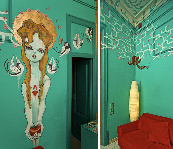 ariel painting Creative Wall Designs