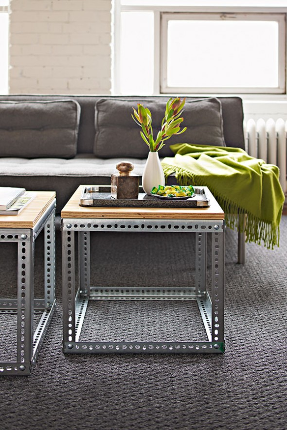 10 590x885 Creative DIY Coffee Table