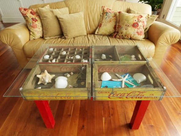 4 590x442 Creative DIY Coffee Table
