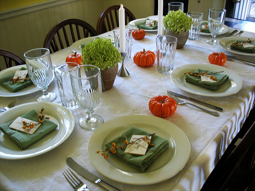 Creative Thanksgiving Table Setting Ideas