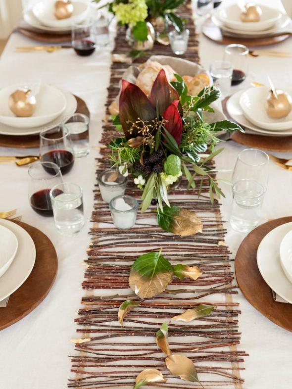Creative Thanksgiving Table Setting Ideas: cheap thanksgiving table setting ideas
