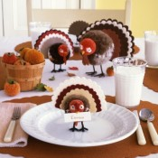Creative Thanksgiving Table Setting