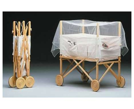 The Crib Is Perfectly Baby Friendly, Space Saving And Ever Practical For  Use Anywhere In Or Outside The House.