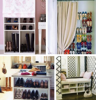 Organizing Ideas- Shoe Storage Ideas