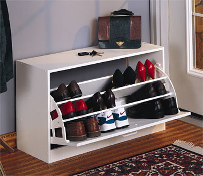Creative shoe storage ideas - Best shoe storage solutions for small spaces paint ...