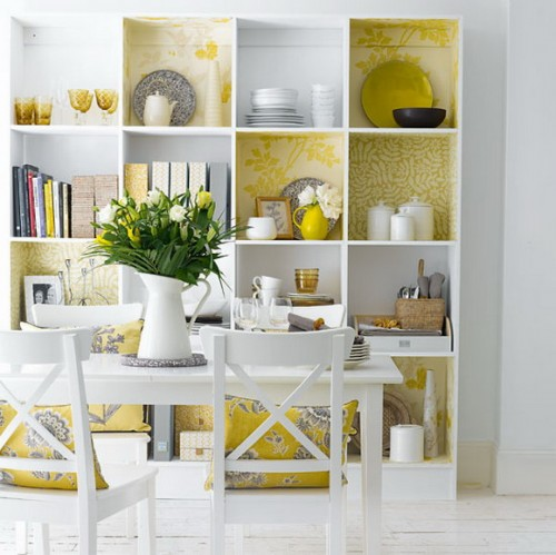 Colored Cabinet 1 Creative Ideas to Bright Up your Dining Room