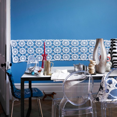 Colored walls 3 Creative Ideas to Bright Up your Dining Room