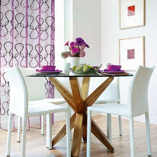 Curtains 2 Creative Ideas to Bright Up your Dining Room