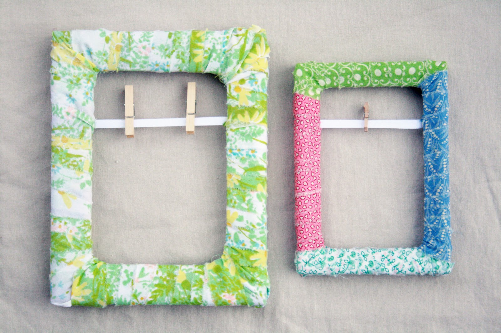 Easy To Make Photo Frames DIY
