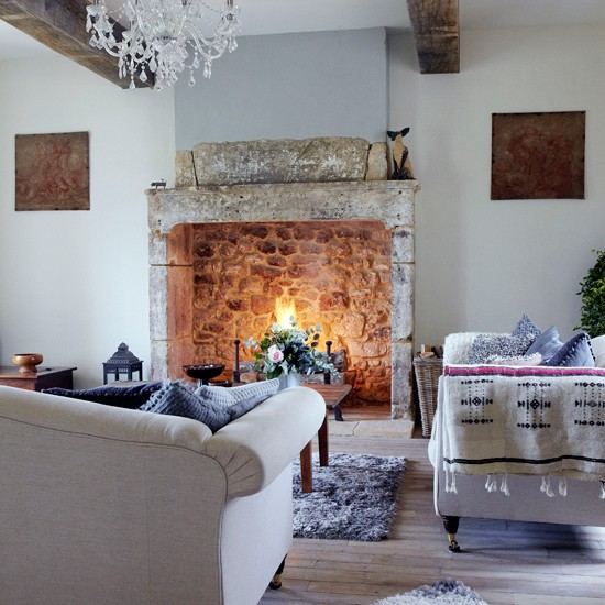 Living room decoration ideas for winters for Living room focal point ideas