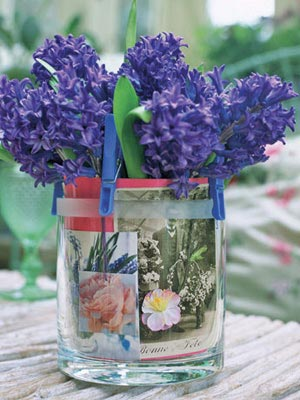 Photo Vase 10 Cool Spring Centerpieces
