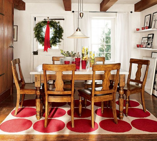 Rug Creative Ideas to Bright Up your Dining Room