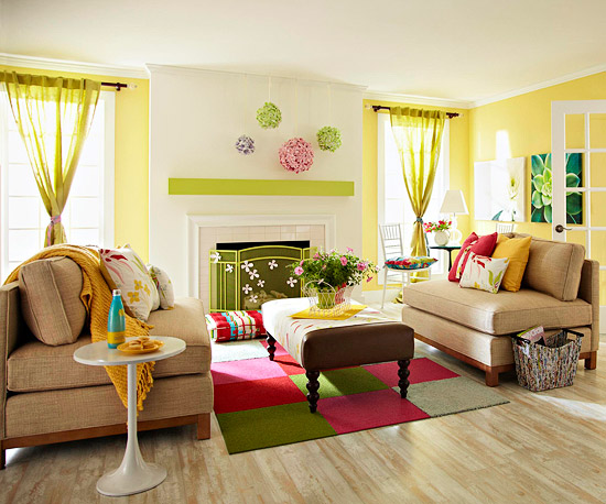 Spring 2 Living Room Ideas for Spring 2013