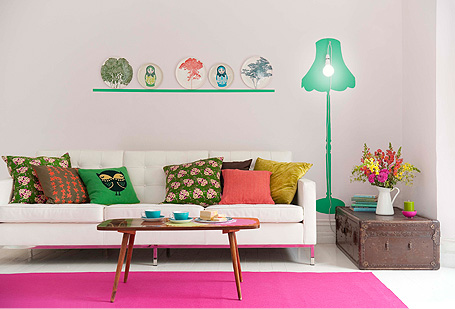 Spring 5 Living Room Ideas for Spring 2013