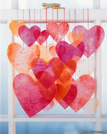 Crayon Hearts Valentines Day Craft Ideas