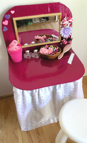 Dressing Table 9 DIY Dressing Table Ideas