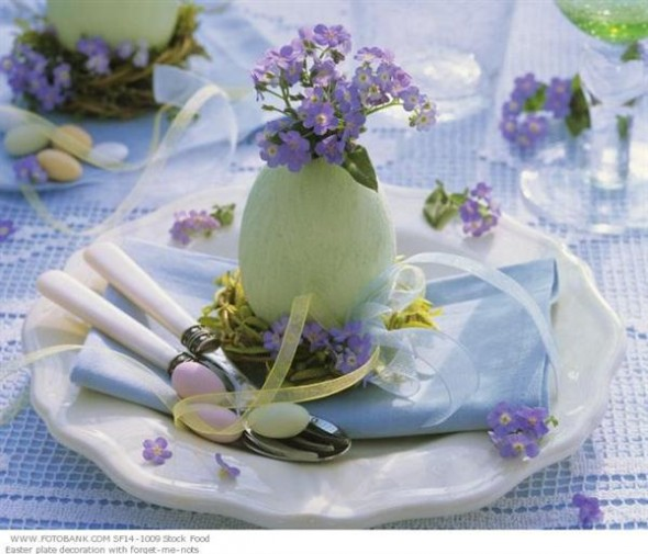 Easy and Simple Easter & Spring Centerpieces
