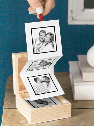 Pull Out Photo Album Valentines Day Craft Ideas