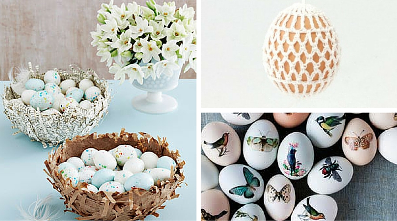 10 DIY Ideas for Decorating Easter Eggs