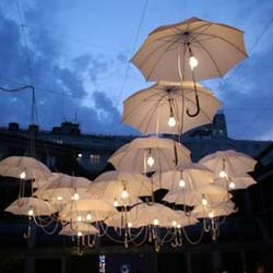 outdoor wedding lighting Lighting Ideas for Outdoor Weddings