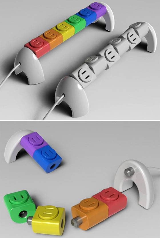 Rotating 360 degree Lego Sockets