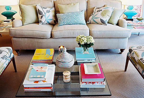 Coffee table decoration ideas for Coffee table book ideas