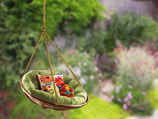 Outdoor Swing Ideas- DIY