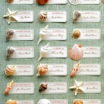 Seashell Seating Cards