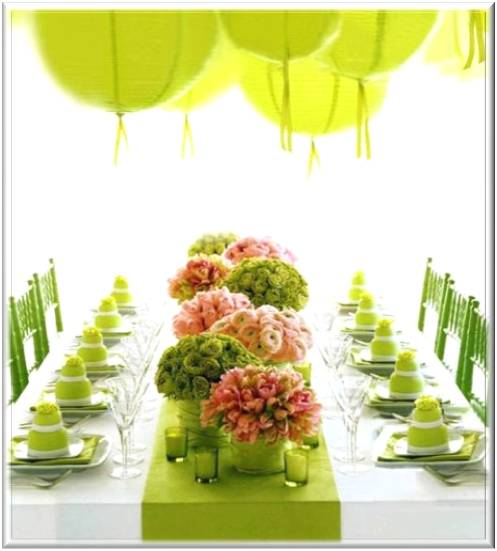 Creative baby shower decoration ideas for Baby shower flower decoration ideas