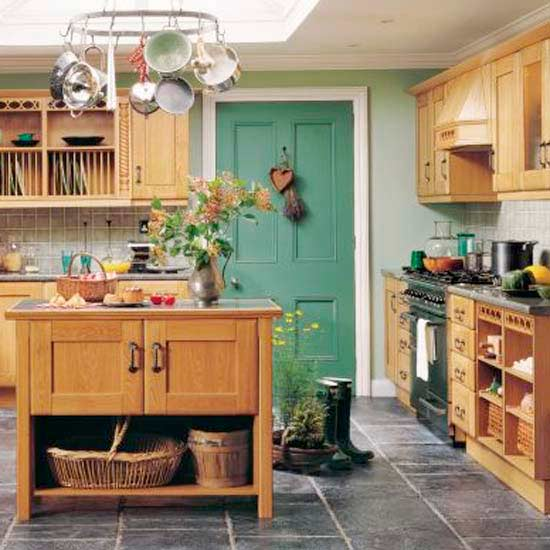 Country Kitchen Look: Country Style Kitchen In Simple Steps