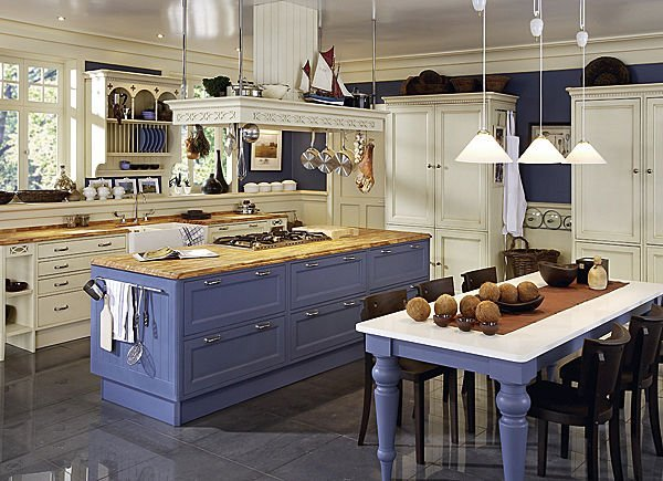 Country style kitchen 7 living impressive - Country style kitchens ...