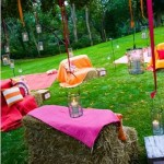 Haybale Seating