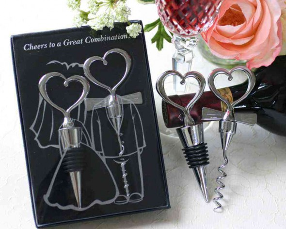 Gift a set of wine opener in style, this is something every guest can use and it will be a memorable gift for them