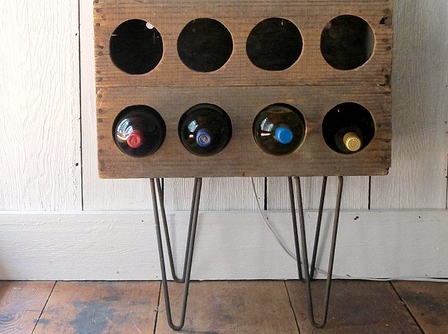 Wine Rack 4 Crate Creative Wine Racks  DIY