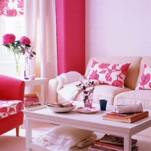 Living Rooms - Floral Patterns