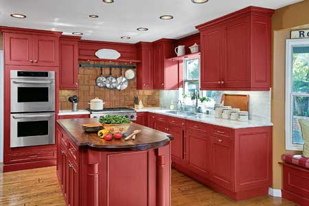 Red Accents In Home Decoration Ideas on kitchen backsplash trends 2015