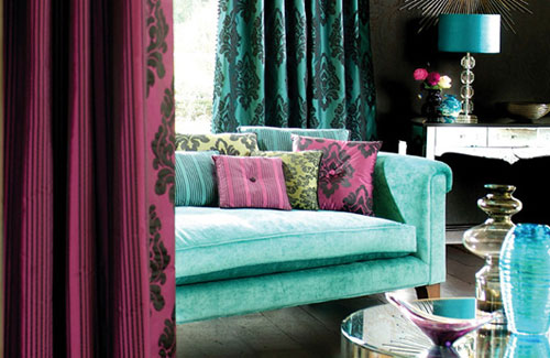 Color trends 2013 blue and turquoise for Turquoise color scheme living room